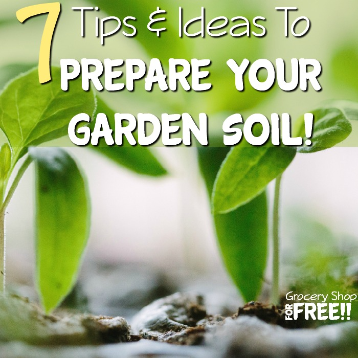 Before you can start your perfect outdoor garden you'll need to prepare the soil.  Check out these 7 Ideas And Tips To Prepare Your Garden Soil before planting!