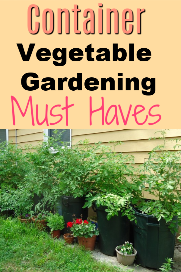 Container Gardening Must Haves