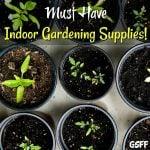 Must Have Indoor Gardening Supplies