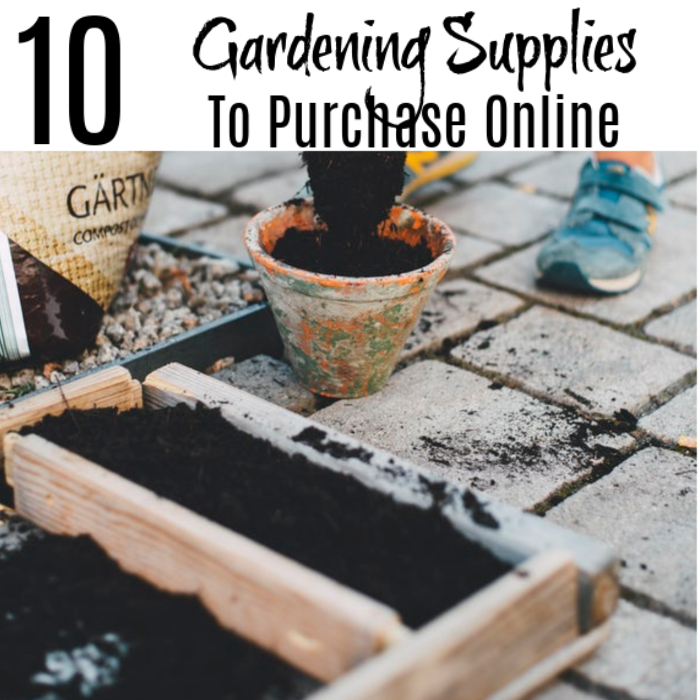 10 Gardening Supplies To Purchase Online Check Them Out!