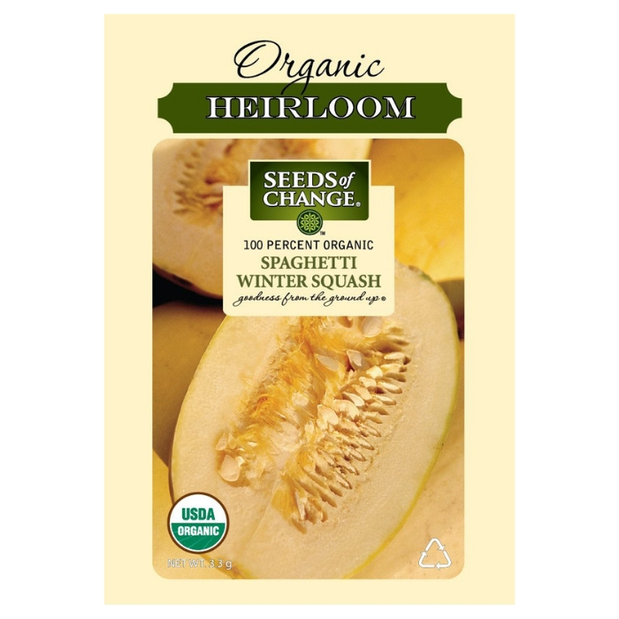 Seeds Of Change Certified Organic Squash Seeds