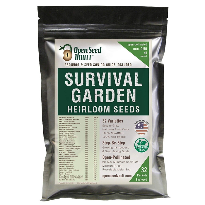 Survival Garden Vegetable Seeds