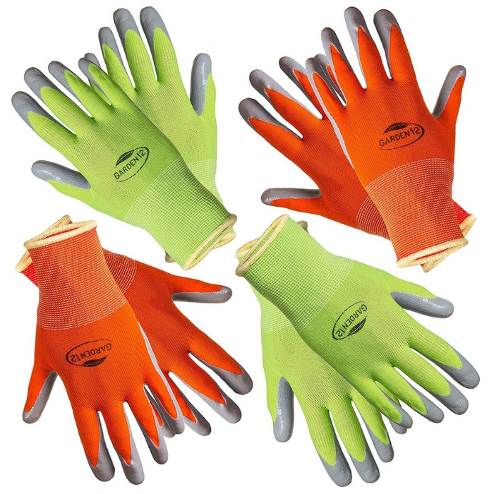 Women's Gardening Gloves 4-Pack