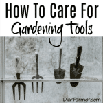 How To Care For Gardening Tools