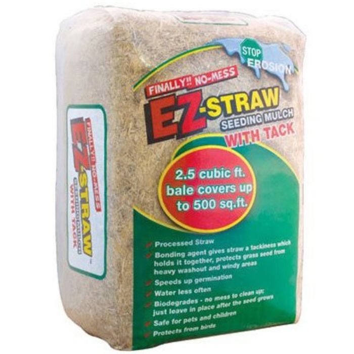 EZ-Straw Seeding Mulch with Tack