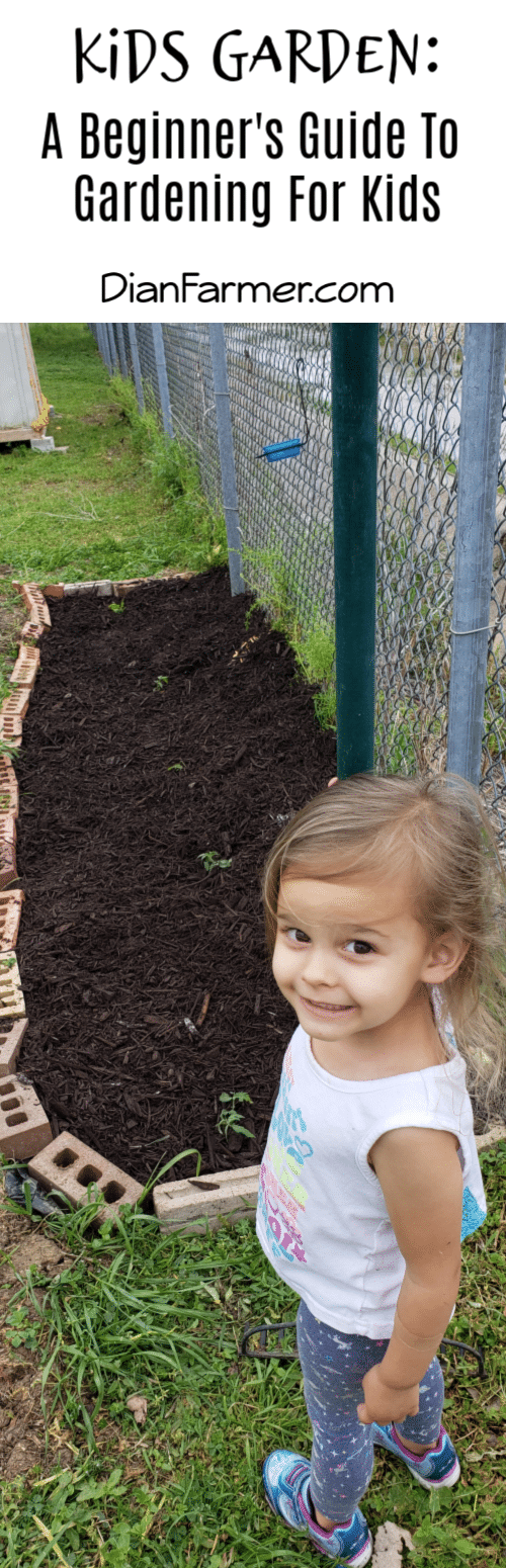 A kids garden is a great summer activity that has many benefits for the whole family.  If you're thinking of starting a garden with your kids, check out this tips.