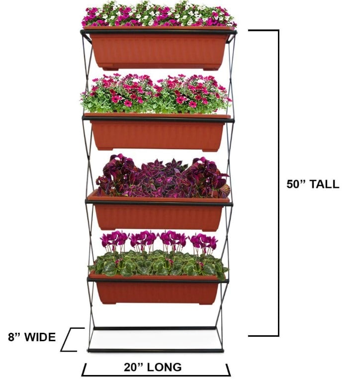 Freestanding Elevated Garden Planter