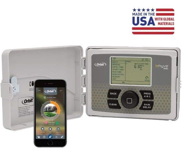 Orbit Smart Indoor/Outdoor 6-Station WiFi Sprinkler System Controller