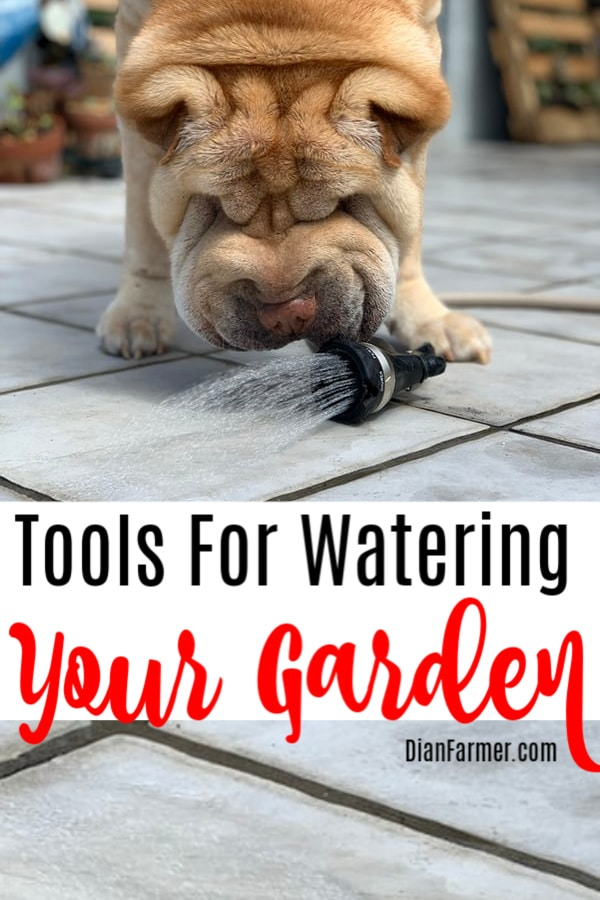 Tired of uneven hand watering your garden?  Check out these Tools For Watering Your Garden.  Click through to see them...