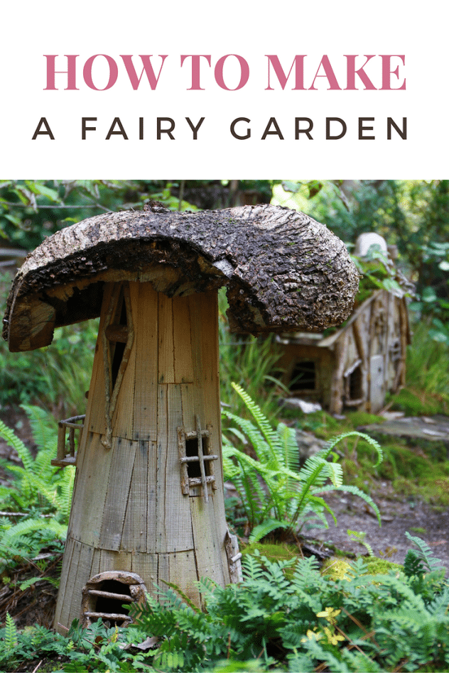 How to Make a Fairy Garden Outdoors