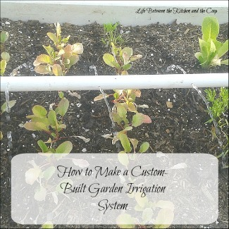 How to Make a Custom-Built Garden Irrigation System