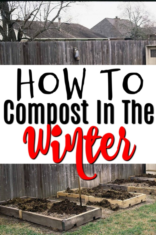 Learning how to compost in winter is simple.  Click through to learn how to get started and maintain your compost now...