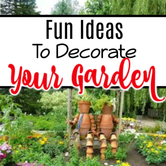 If you're looking for some ideas to decorate your garden, you've come to the right place.  Click through NOW to see them all...