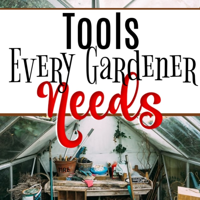 To have a successful garden there are certain tools you'll need.  Click through NOW to see 9 Tools Every Gardener Needs...