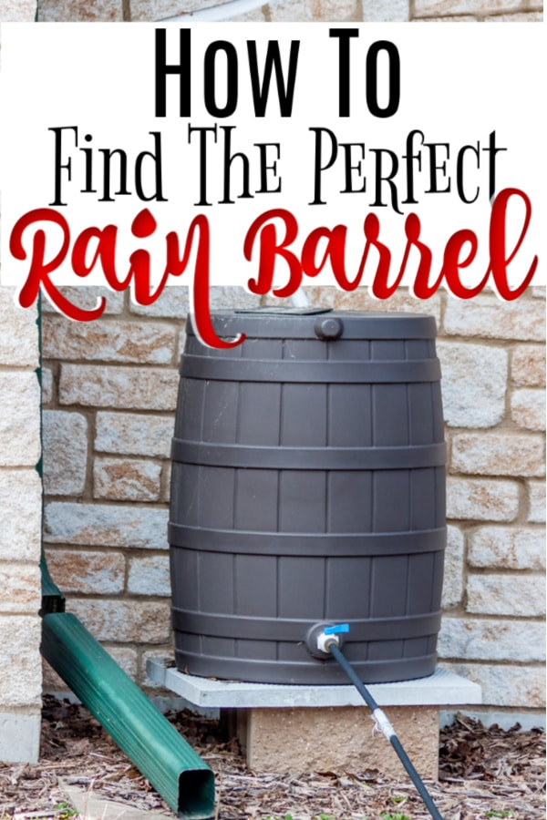 A rain barrel is a great thing for a garden.  Plants LOVE rainwater and it saves you money, too.  Click through NOW to check out these rain barrels and find the best one for you...