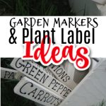 Garden Markers And Plant Label Ideas
