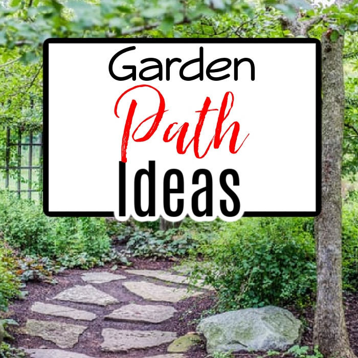 Need a practical but fun garden path to work in and enjoy your garden? Click through NOW to see some great ideas to get your creative juices flowing....