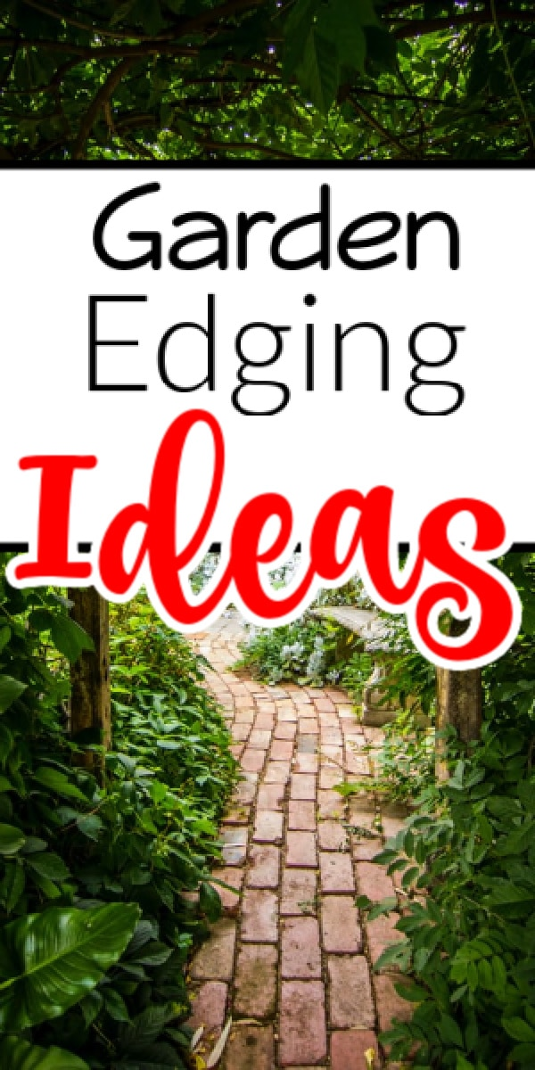 Need some practical ideas for edging your garden? Then these garden edging ideas are just what you've been looking for.  Click through NOW to see them all...